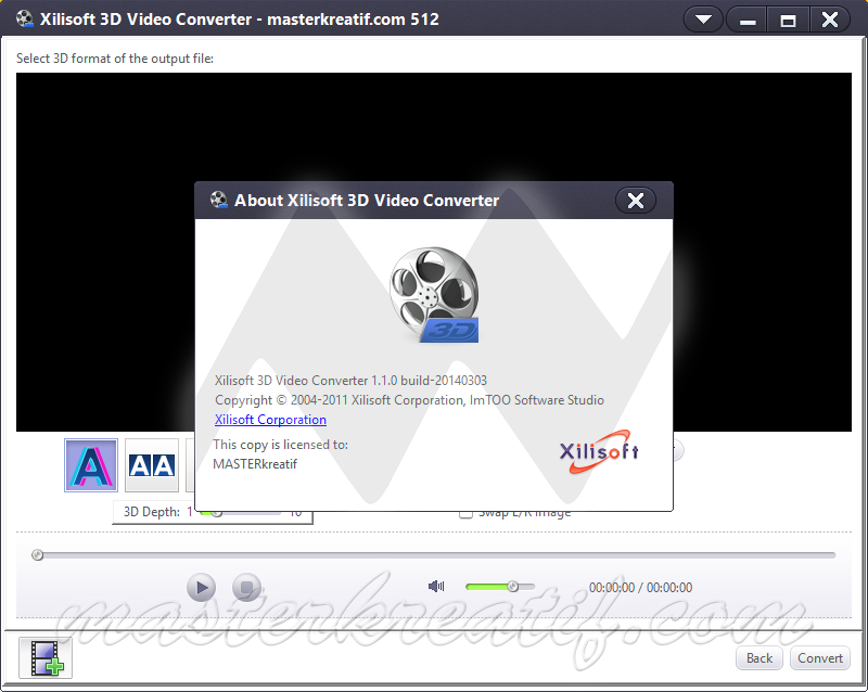 Www torrent to xilisoft 3d video converter v1.0.0.1202 laxity