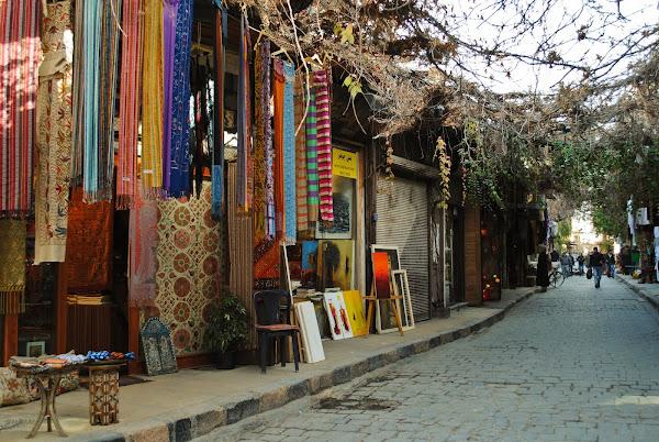 Lojas das Antiga Damasco