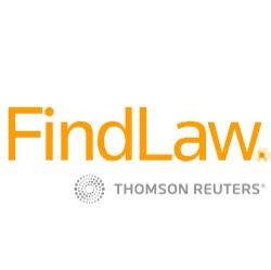 FindLaw, a Thomson Reuters business logo