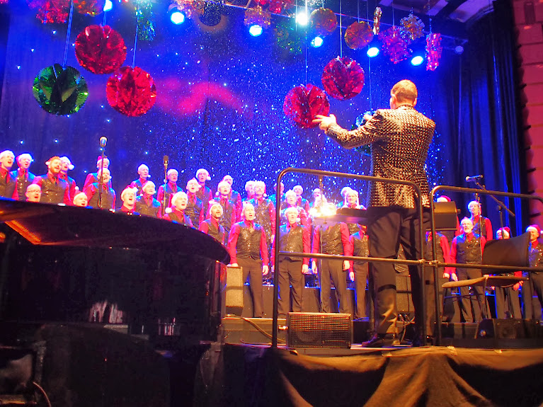 brighton gay men's chorus christmas concert 2013