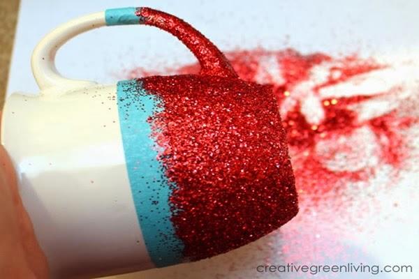 canecas com glitter