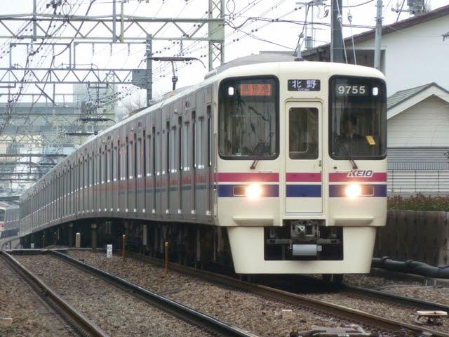 京王電鉄 準特急 北野行き4 9000系