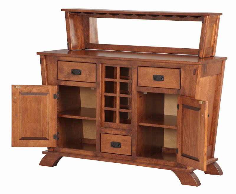 baroque kitchen buffet in acres maple