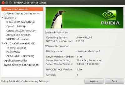 NVIDIA lanza la versión 319.32 de sus controladores gráficos para linux