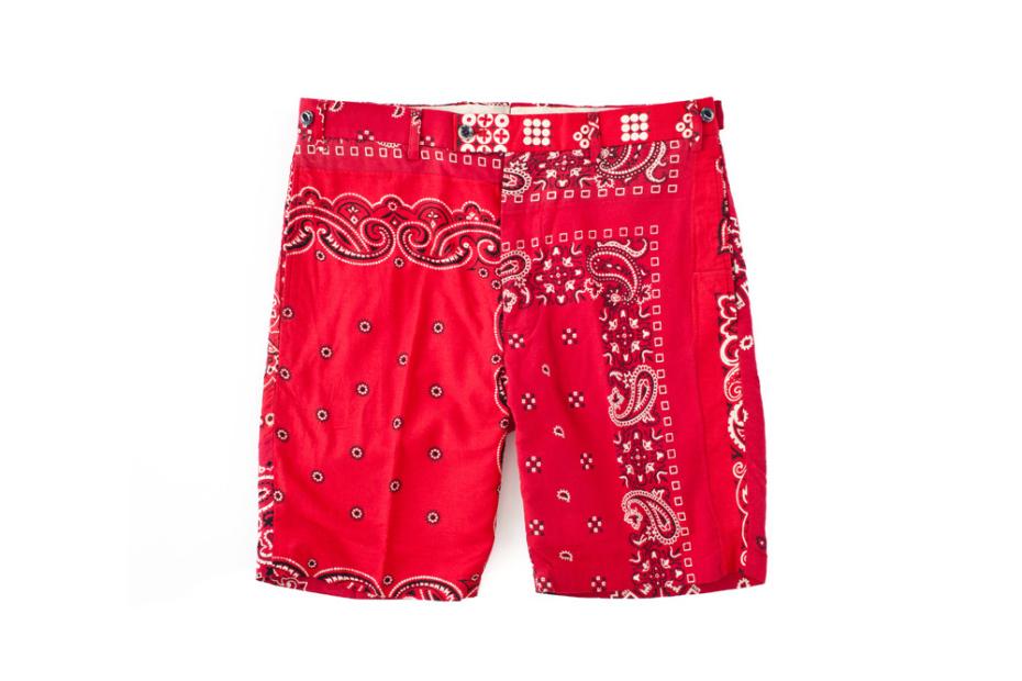 *中世紀三角巾復古短褲:F.I.L. Indigo Camping 2013 S/S 1