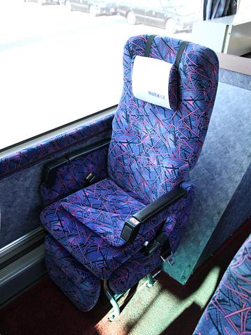 四国高速バス「さぬきエクスプレス神戸大阪号」 ・310 シート