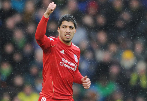 Luis Suarez, Norwich City - Liverpool