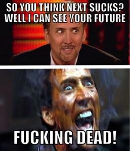 Crazy Nicolas Cage meme