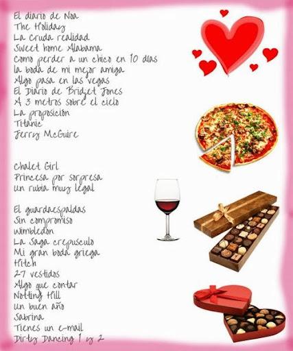 Pergamino romantico para san valentin