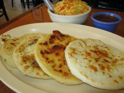 Las pupusas, el plato típico de El Salvador