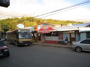 L'arret de bus de Monteverde.