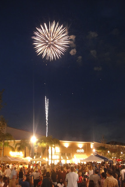 Fireworks at the Shops at Wiregrass
