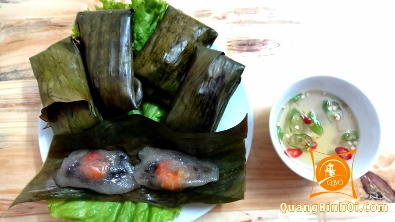 Bánh lọc lá Quảng Bình
