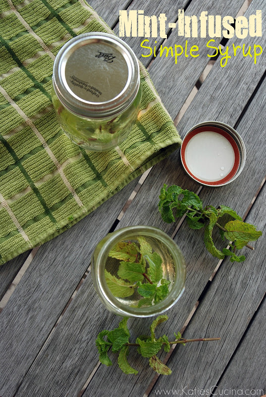Mint-Infused Simple Syrup