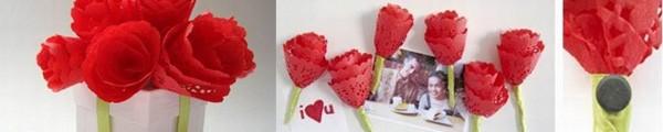 hoa+giay+11 Cách làm hoa trang trí đơn giản từ giấy