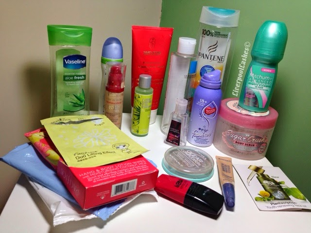 empties april 2014