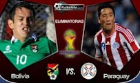 Bolivia Paraguay vivo online 9 Junio