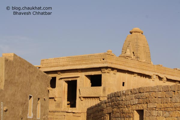 Kuldhara Village in Jaisalmer - Temple