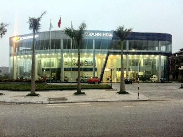 Đại lý Chevrolet tại Thanh Hóa