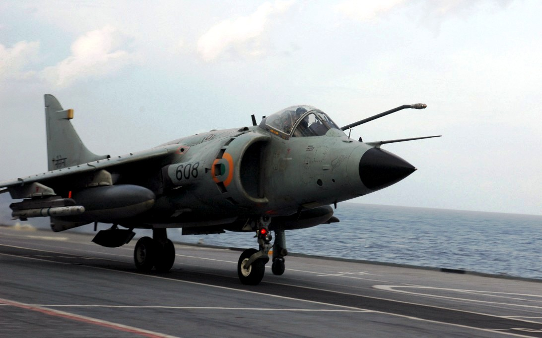 Sea Harrier Jet Fighter Wallpaper 4