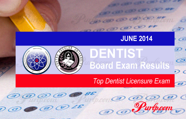 ceu' tops june 2014 dentist licensure exam