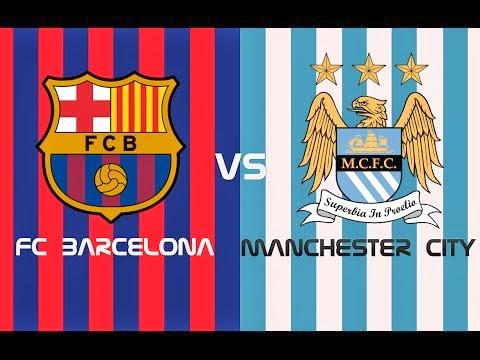 InfoDeportiva - Informacion al instante. REPETICION FC BARCELONA VS MANCHESTER CITY. Goles, Resultados, Estadisticas, Online