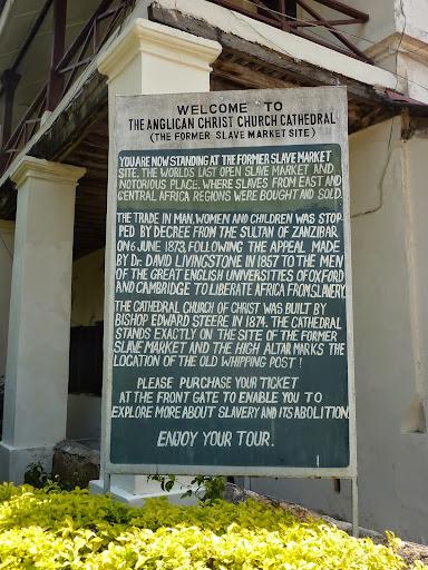 Former slave market, Zanzibar. From Through the eyes of an educator: Zanzibar, Tanzania