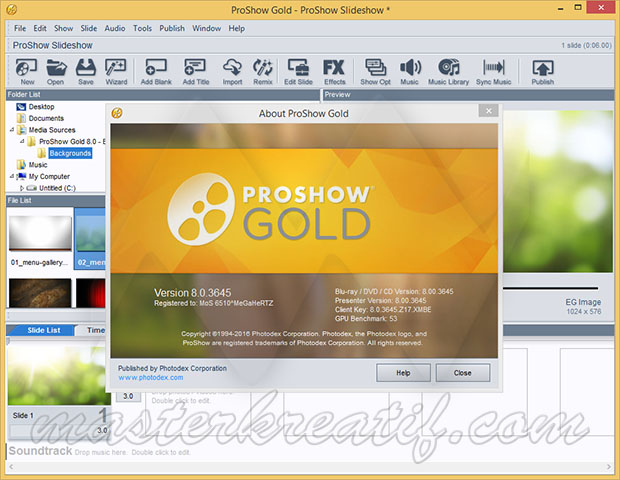 proshow gold  free windows 7 crack
