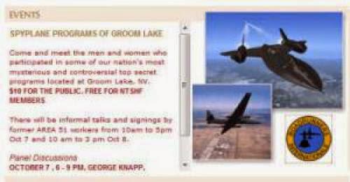 Area 51 Presentation In Las Vegas October 7 8