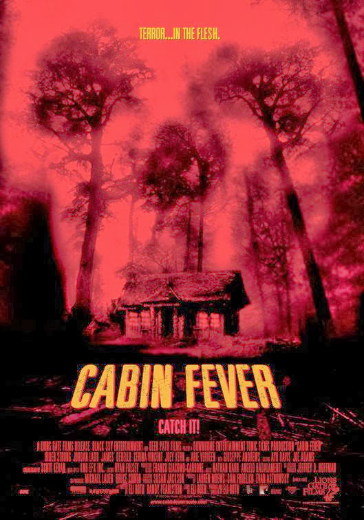 Poster Of Cabin Fever (2002) Full Movie Hindi Dubbed Free Download Watch Online At Alldownloads4u.Com