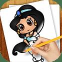 Tekenlessen Chibi Anime App