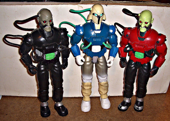 Action Man X Robots 007