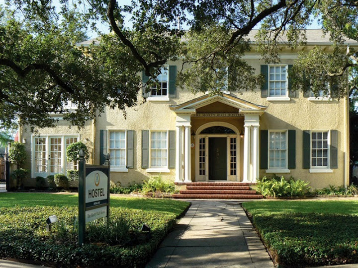 HI Houston, which used to be the mayor's Mansion