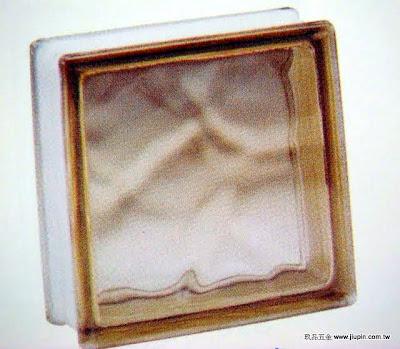 裝潢五金 品名:歐洲玻璃磚-4 規格:19*19CM 顏色:咖啡色