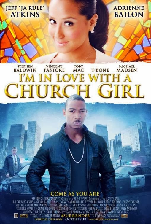 Poster Of English Movie I'm in Love with a Church Girl (2013) Free Download Full New Hollywood Movie Watch Online At alldownloads4u.com