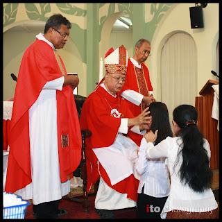 Penerimaan Sakramen Krisma 2011