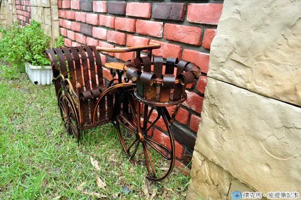 富林園洋菓子三輪車的模型