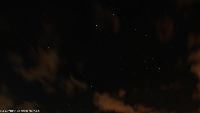 秋の夜空のスターたち