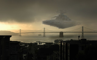 Stars War Imperial Ship Over Bridge Clone Wars HD Wallpaper CG