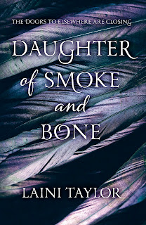 Daughter of Smoke and Bone (Daughter of Smoke and Bone, Book 1), By Laini Taylor UK hard and paperback cover art
