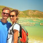 Tomek i Aurelie, z którymi spędziliśmy kilka dni na południu Lomboku.