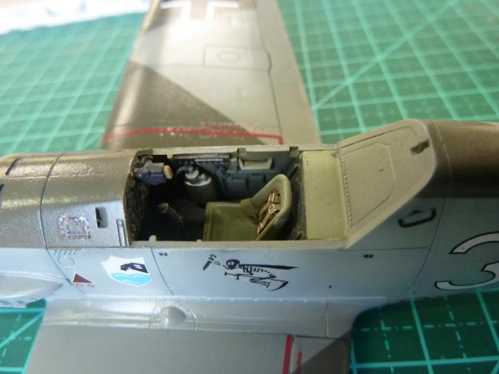 Bf-109 E-3 Tamiya 1/48 - Reforma pintura P1020508