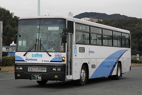 西日本鉄道 福岡空港~久留米線 3184