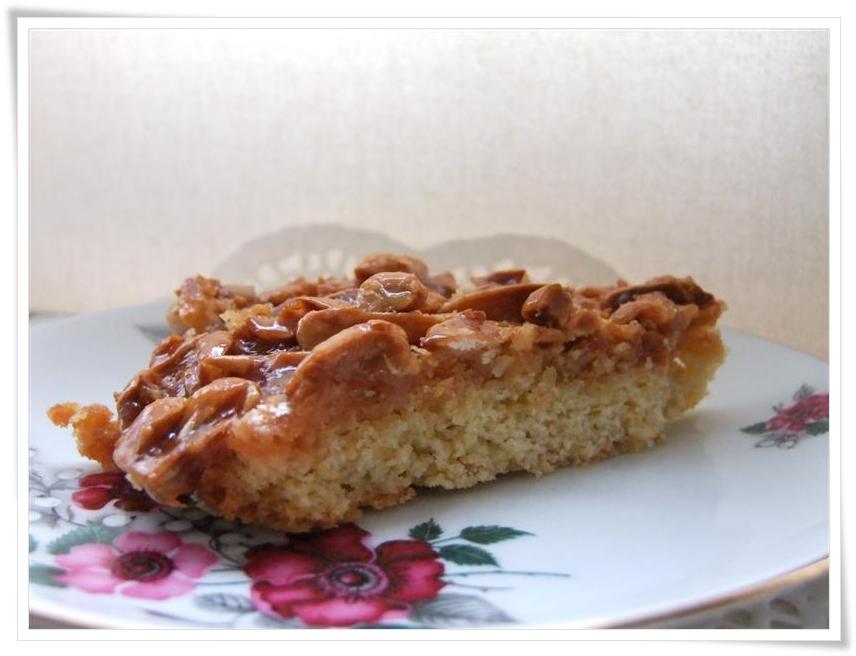 Homemade Life: # 49 Fridays recipes: Toasted almond tart