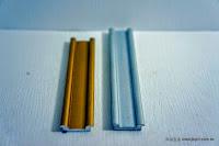 裝潢五金 品名:0139-書櫃下軌 規格:15m/m 顏色:鋁色/金色 用途:書櫃或拉門用下軌 玖品五金