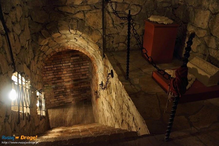 Opatów - podziemna trasa turystyczna - ekspozycje