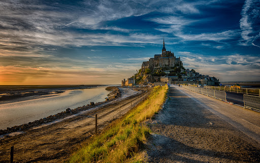 France Mont Saint Michel Island