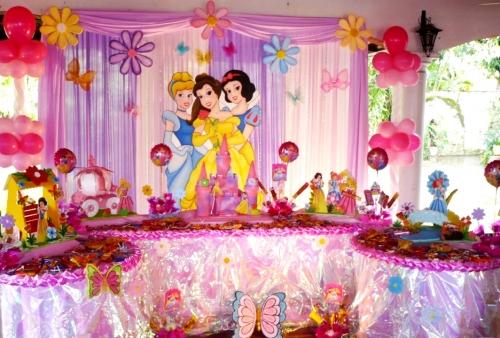Fiestas inolvidables marzo 2011 - Decoracion cumpleanos princesas ...