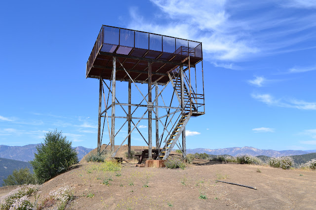 fire lookout skeleton