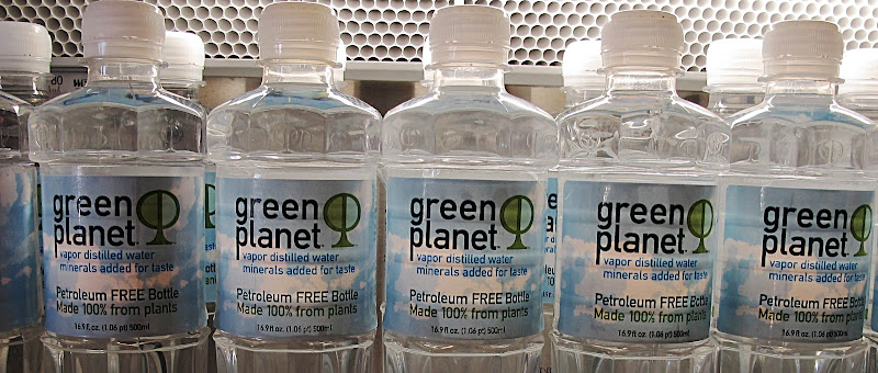 Plant-based plastic bottle
